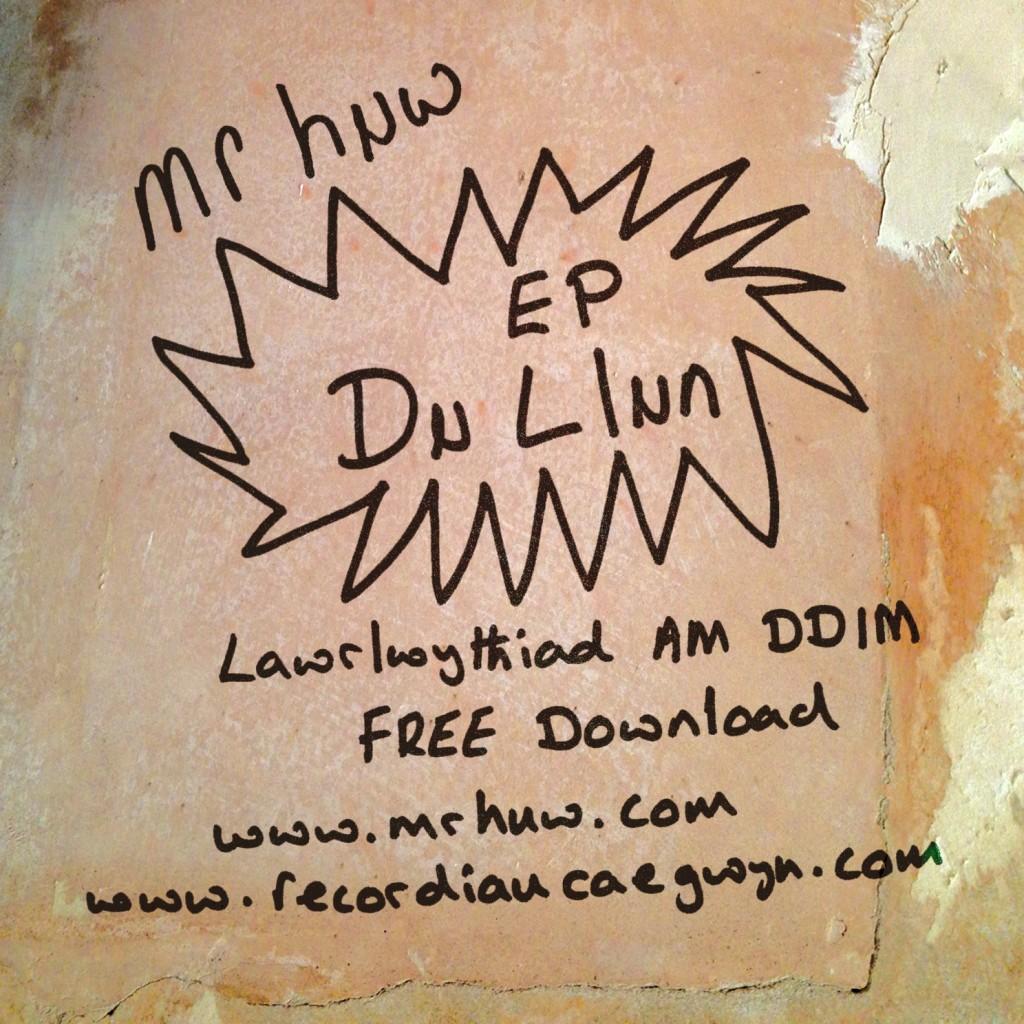 Mr Huw 'Du Llun EP' - Cover