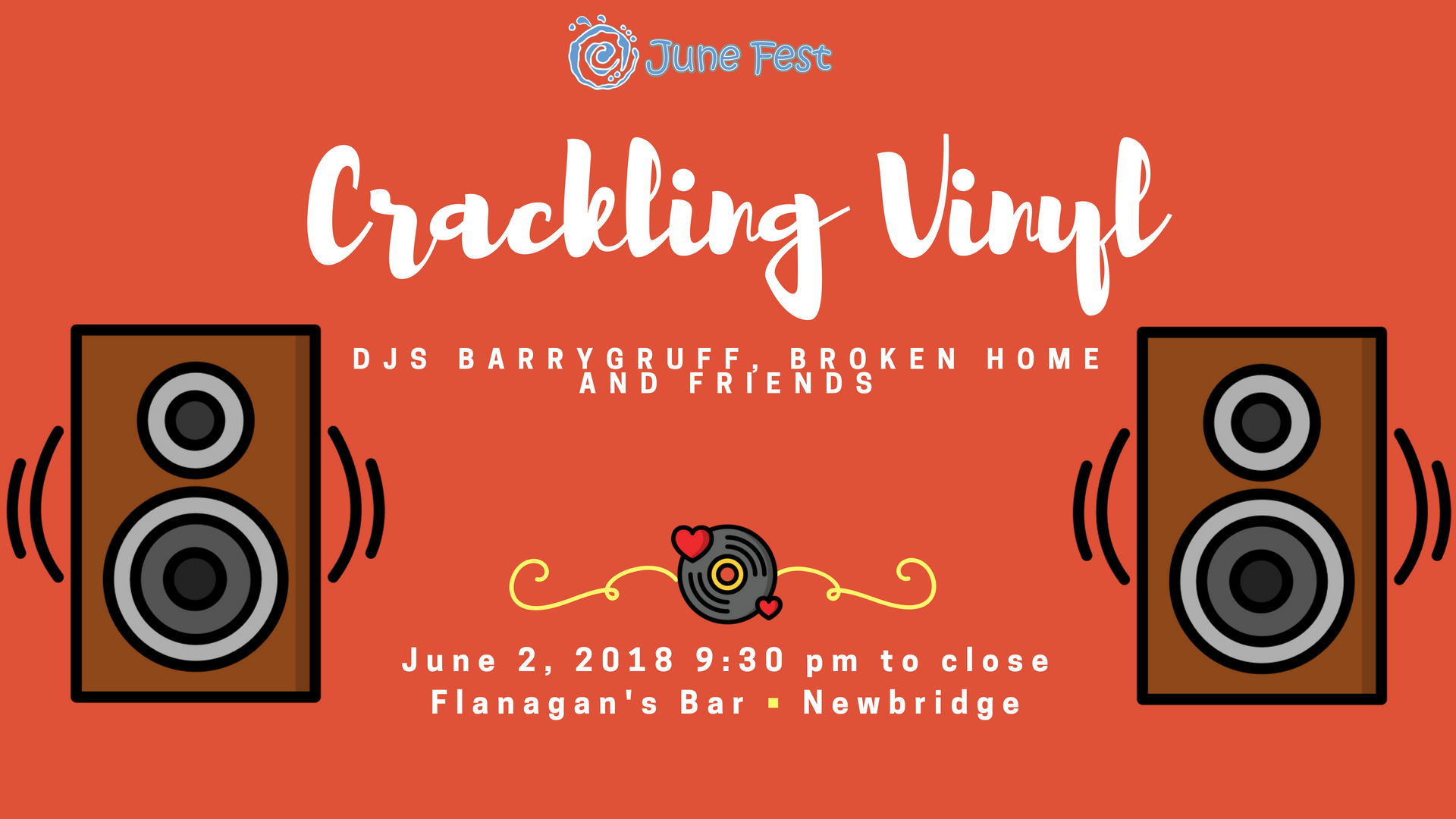 Crackling Vinyl: June 2nd @ Flanagan's