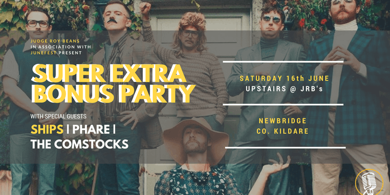 Super Extra Bonus Party: June 16 @ Jrb's